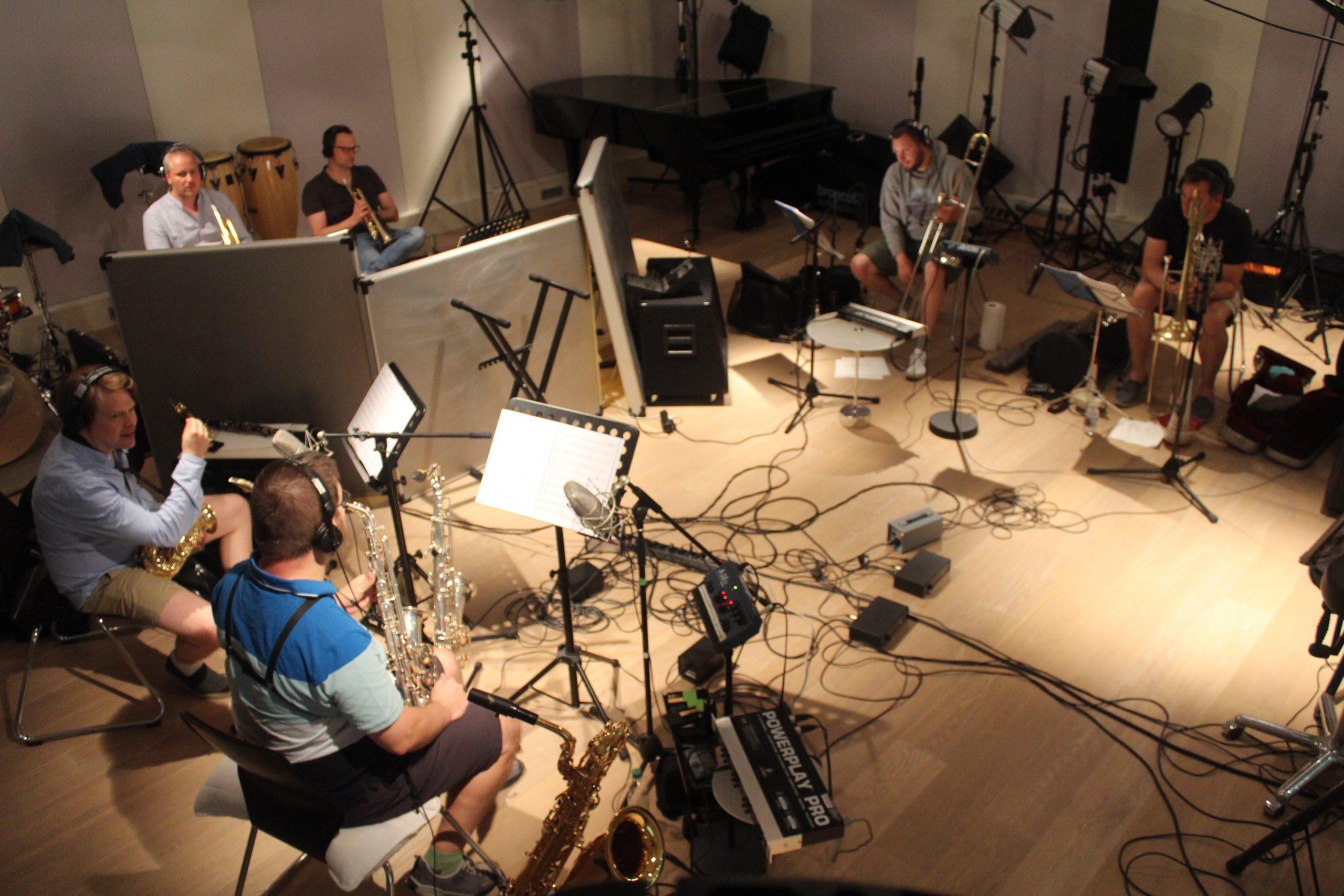 Eine Session mit der Band